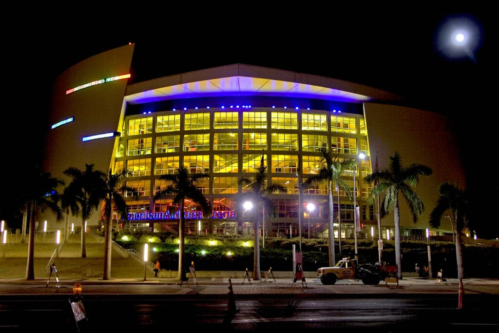 Alex Marrero Miami Heat Arena