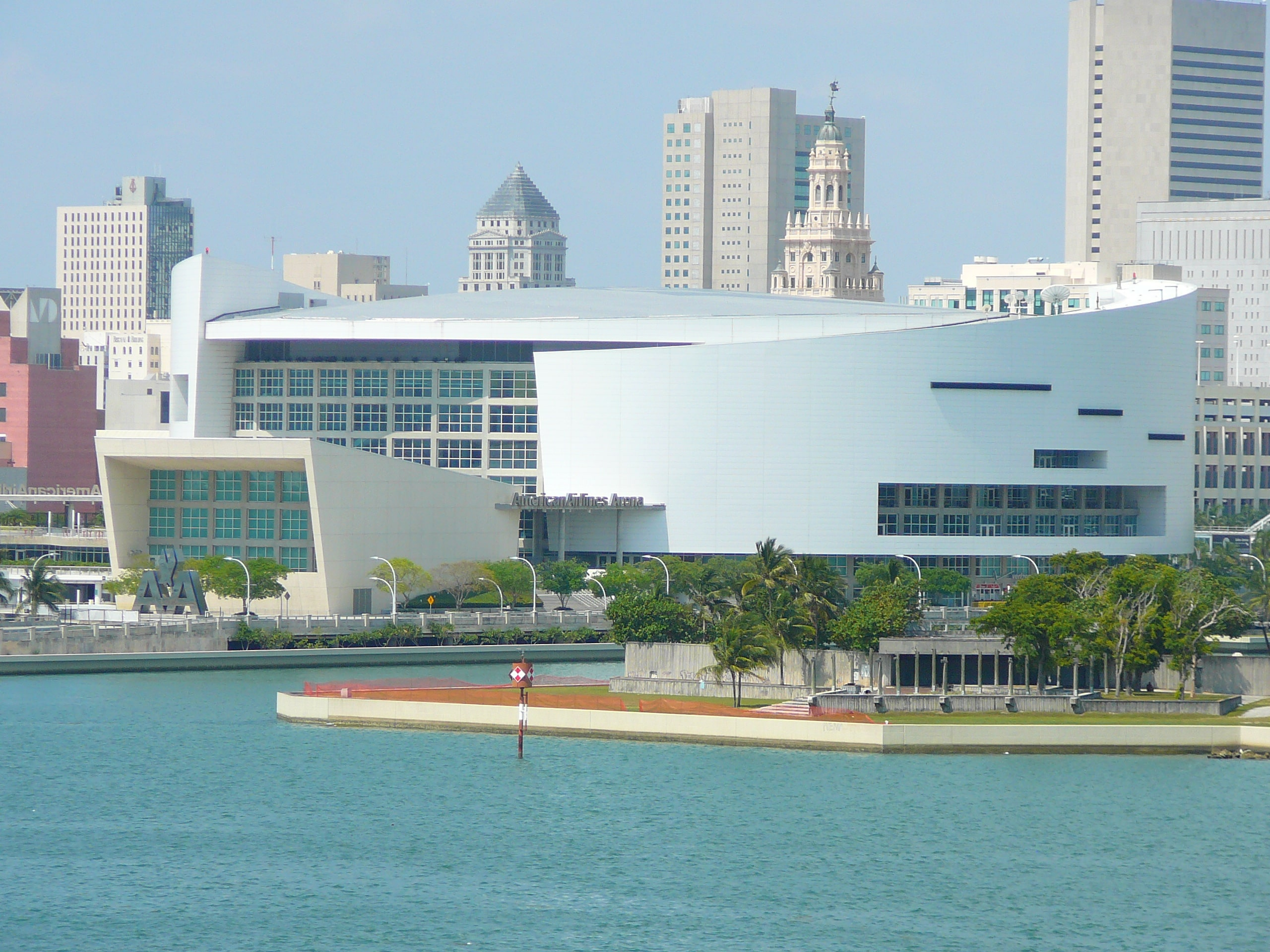 Alex Marrero Miami Heat Arena backside