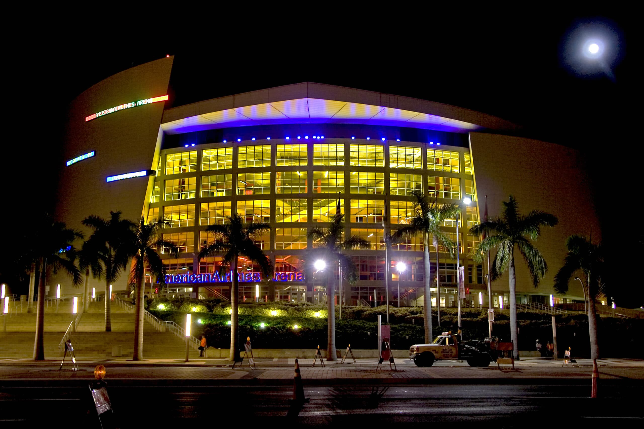 Alex Marrero Miami Heat Arena